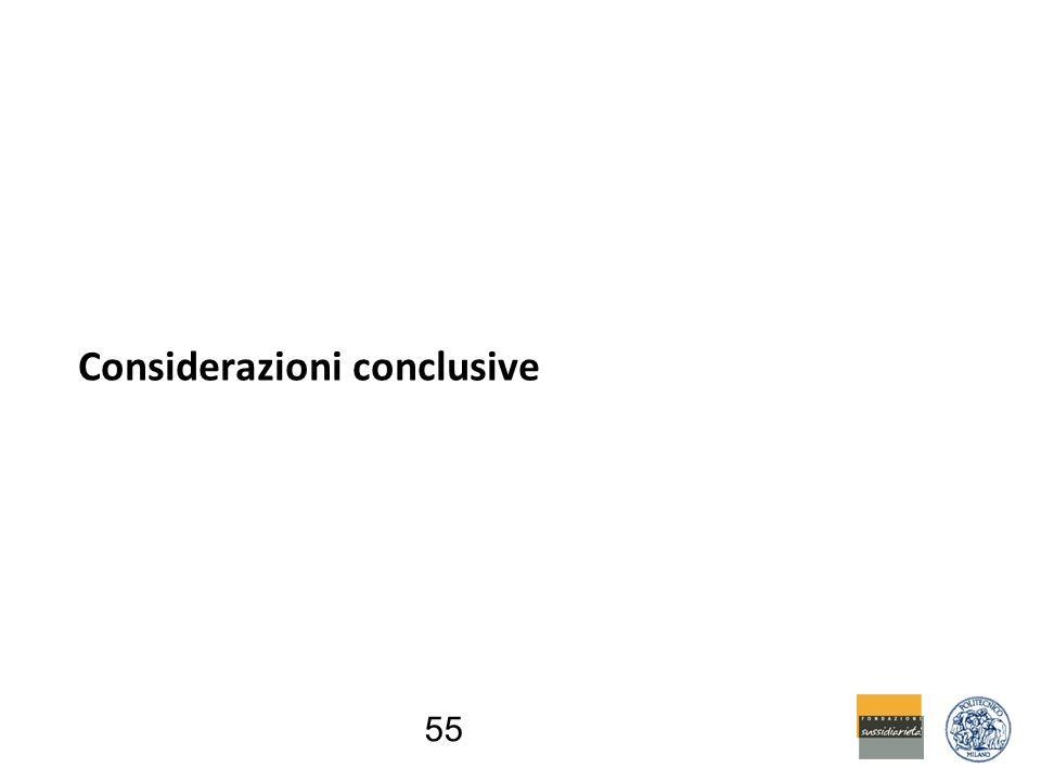 55 Considerazioni conclusive