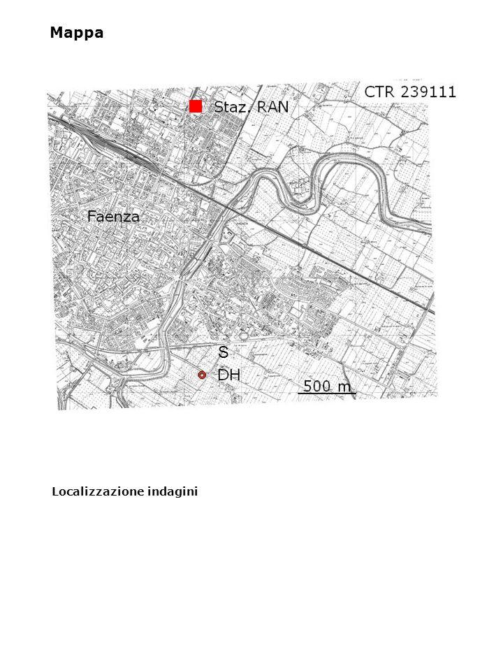 Localizzazione indagini Mappa S