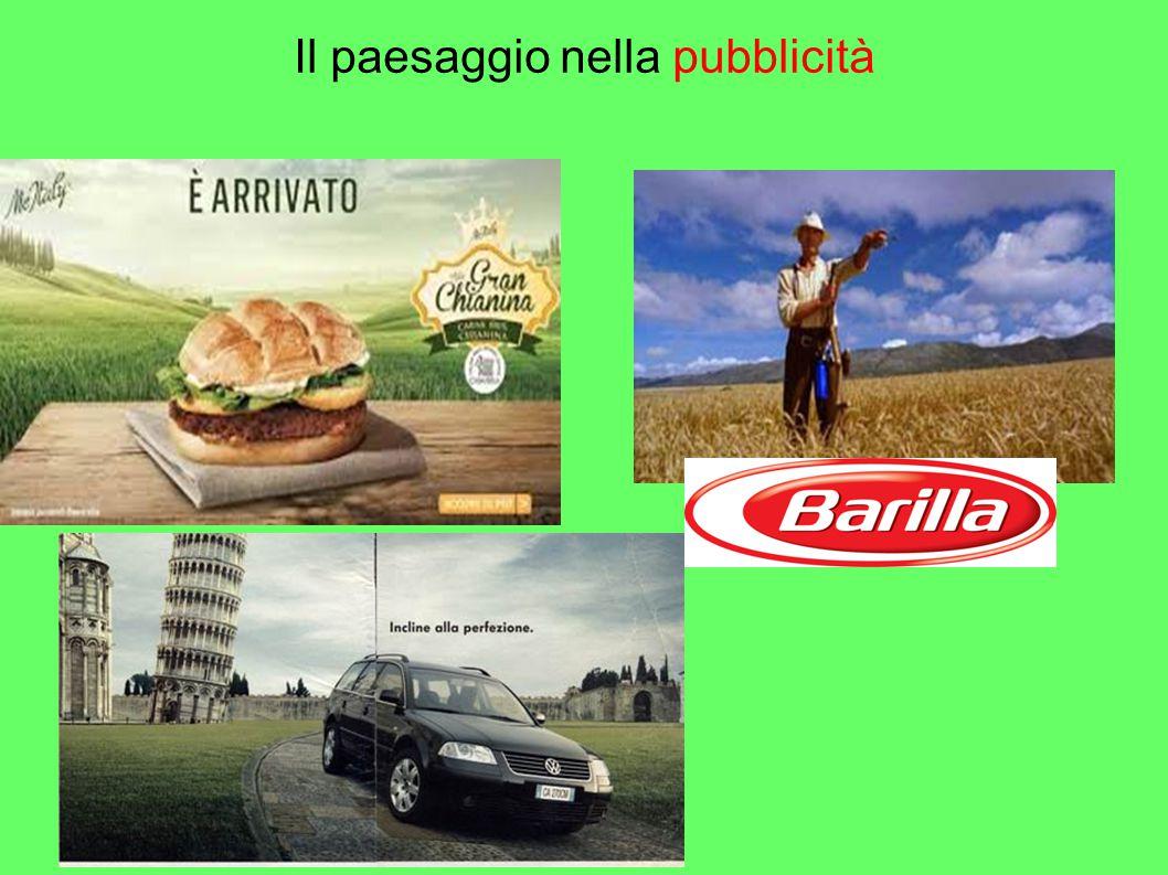 Il paesaggio nella pubblicità