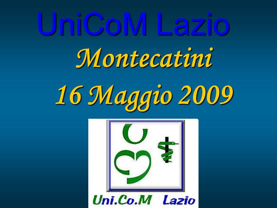 UniCoM Lazio Montecatini 16 Maggio 2009