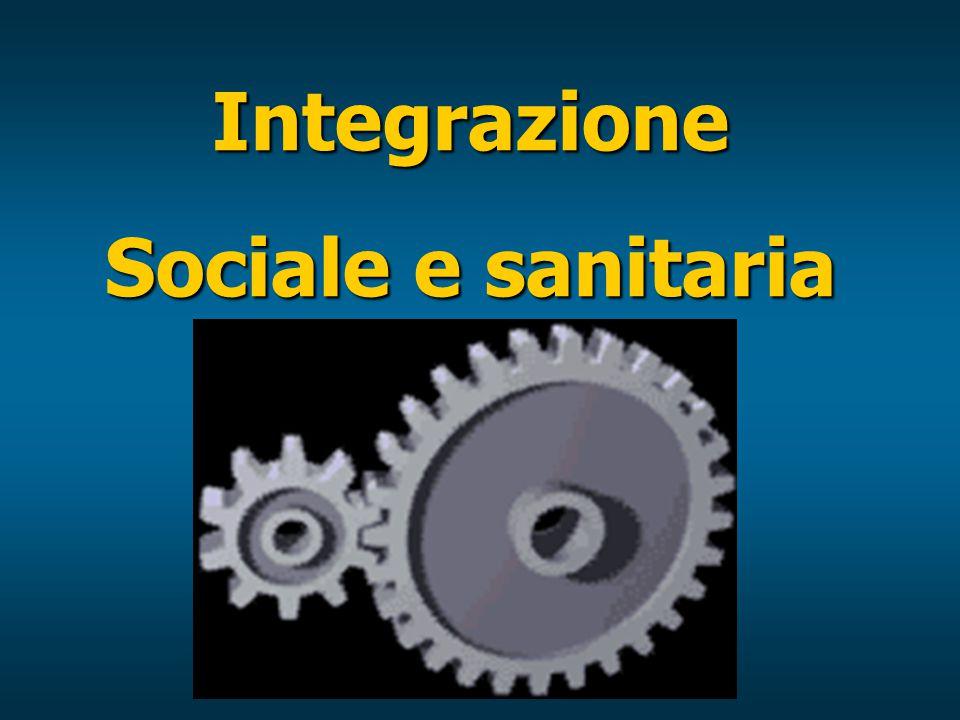 Integrazione Sociale e sanitaria