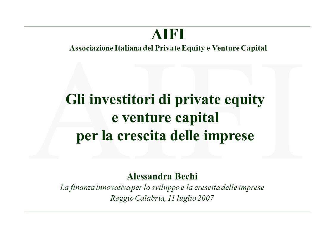 2 AIFI Workshop La finanza innovativa Evoluzione degli Associati AIFI