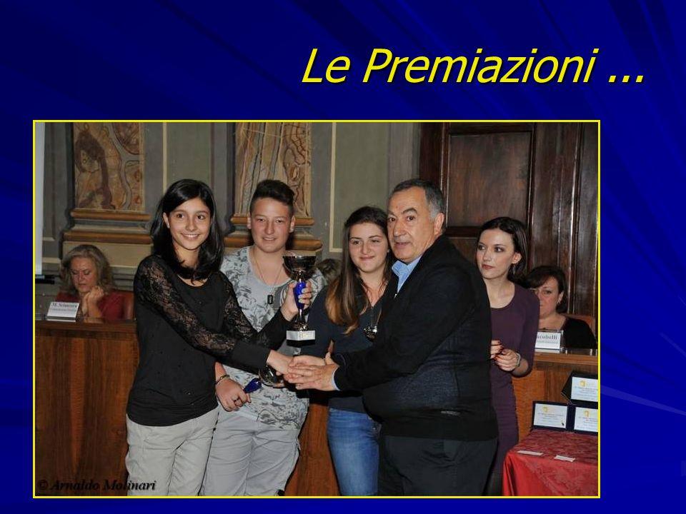 Le Premiazioni...