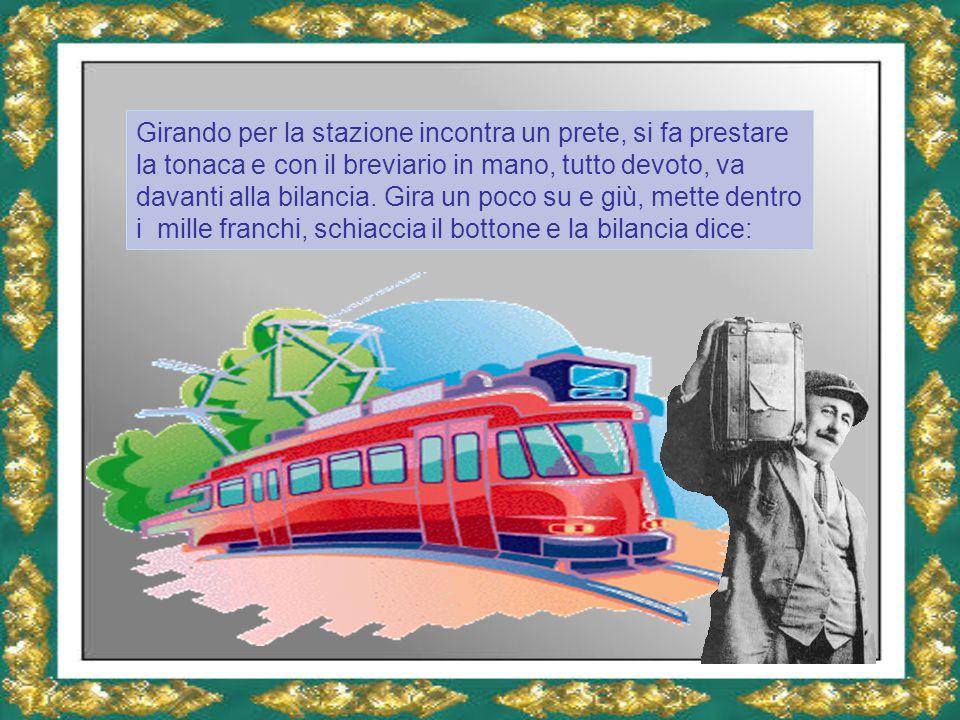 Lei è sempre Vigi, diretto a Butiee…. Purtroppo per fare il macaco , ha perso il treno !!!....