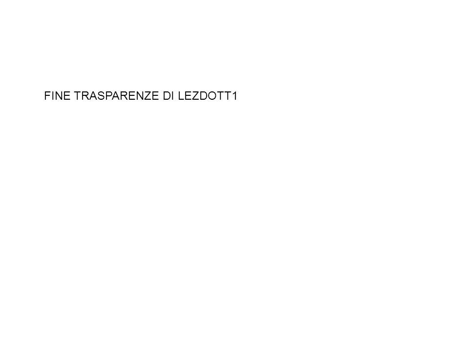 FINE TRASPARENZE DI LEZDOTT1
