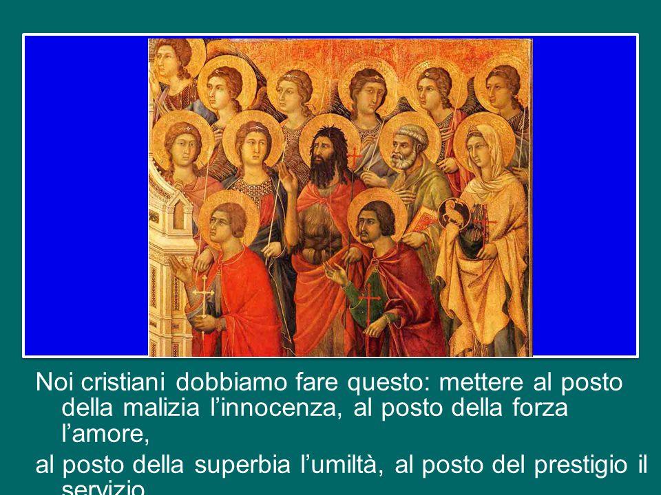 Che cosa significa per la Chiesa, per noi, oggi, essere discepoli di Gesù Agnello di Dio.