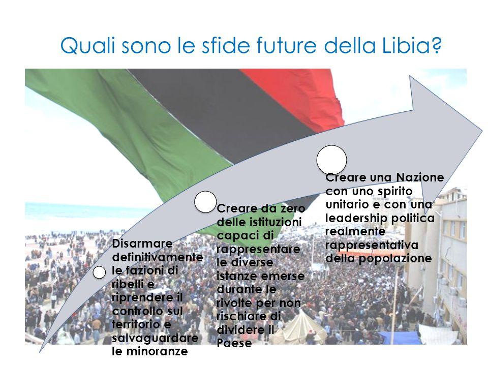 Quali sono le sfide future della Libia.