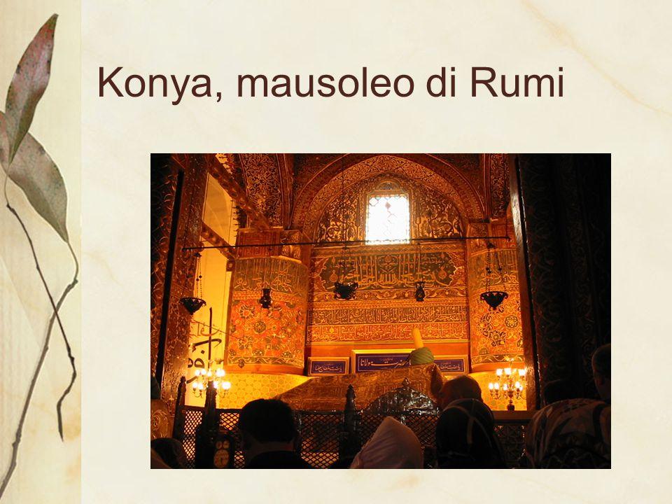 Konya, mausoleo di Rumi