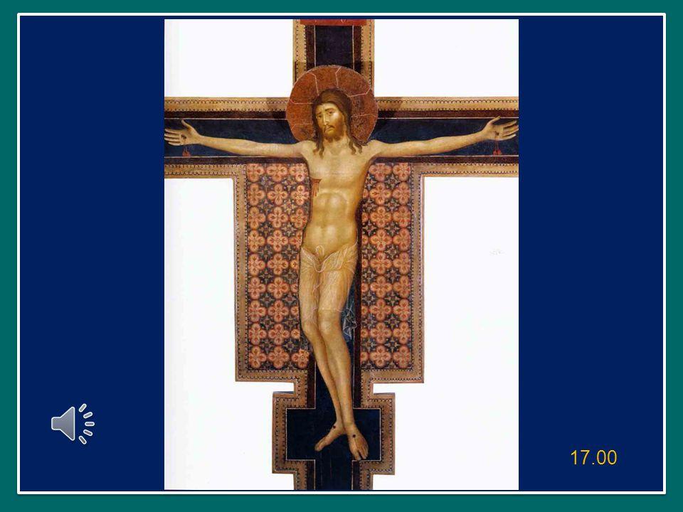 quell'uomo, che ha sbagliato nella vita, alla fine si aggrappa pentito a Gesù crocifisso implorando: «Ricordati di me, quando entrerai nel tuo regno» (Lc 23,42).