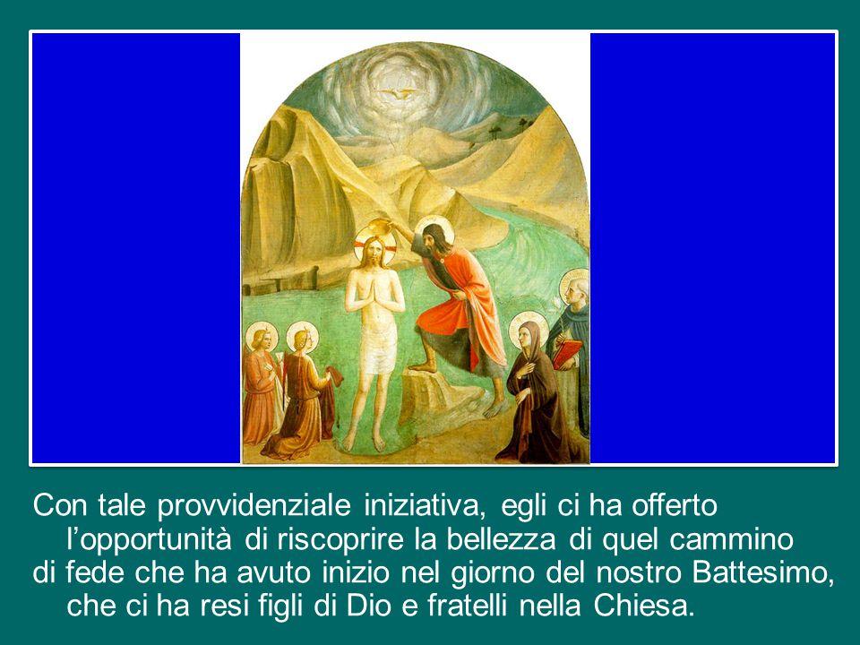 segna anche la conclusione dell'Anno della fede, indetto dal Papa Benedetto XVI, al quale va ora il nostro pensiero pieno di affetto e di riconoscenza per questo dono che ci ha dato.