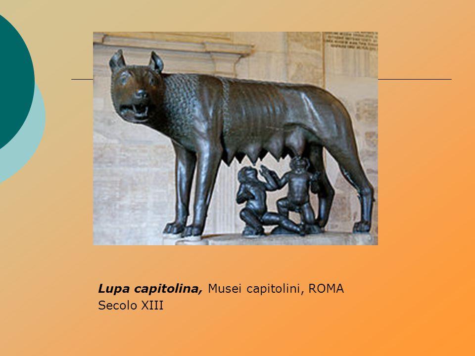 Lupa capitolina, Musei capitolini, ROMA Secolo XIII