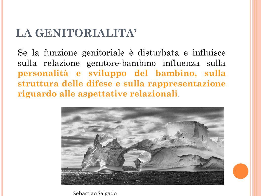 LA GENITORIALITA' Se la funzione genitoriale è disturbata e influisce sulla relazione genitore-bambino influenza sulla personalità e sviluppo del bamb