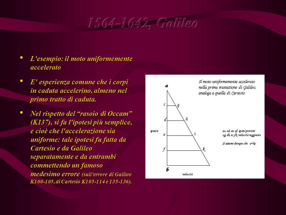 3. Ruolo dell esperimento (assente nella fisica medievale) 3.