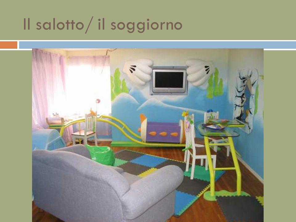 Il salotto/ il soggiorno