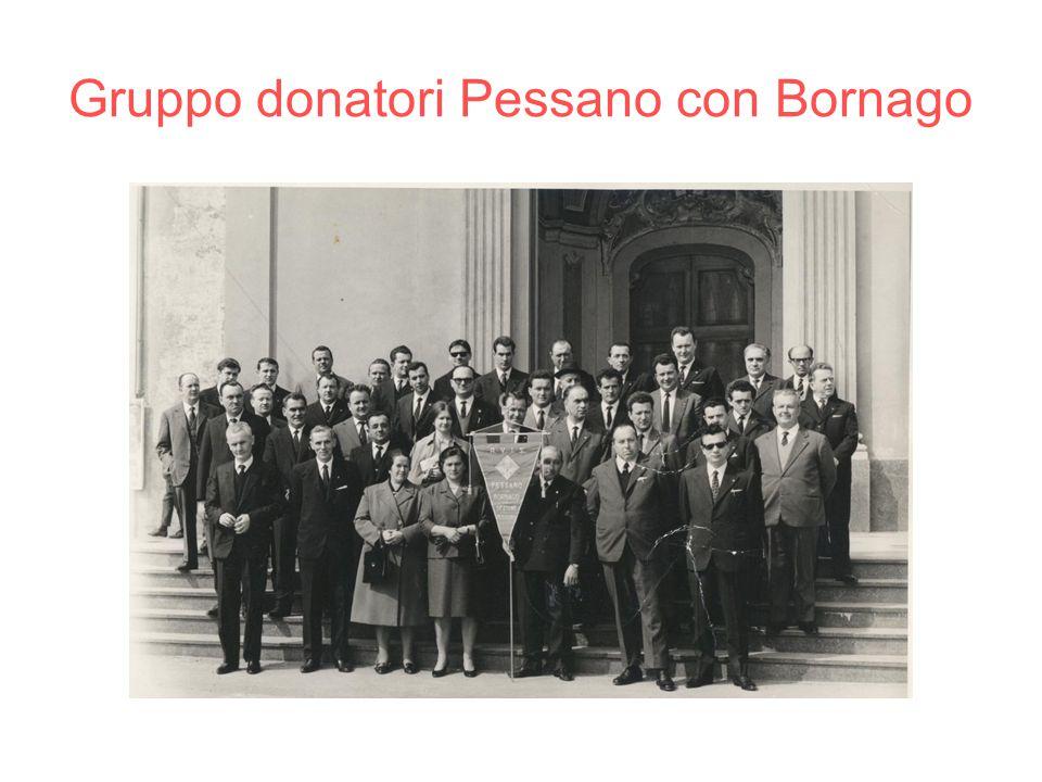 Gruppo donatori Pessano con Bornago