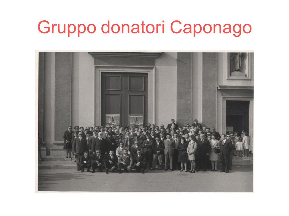 Gruppo donatori Caponago