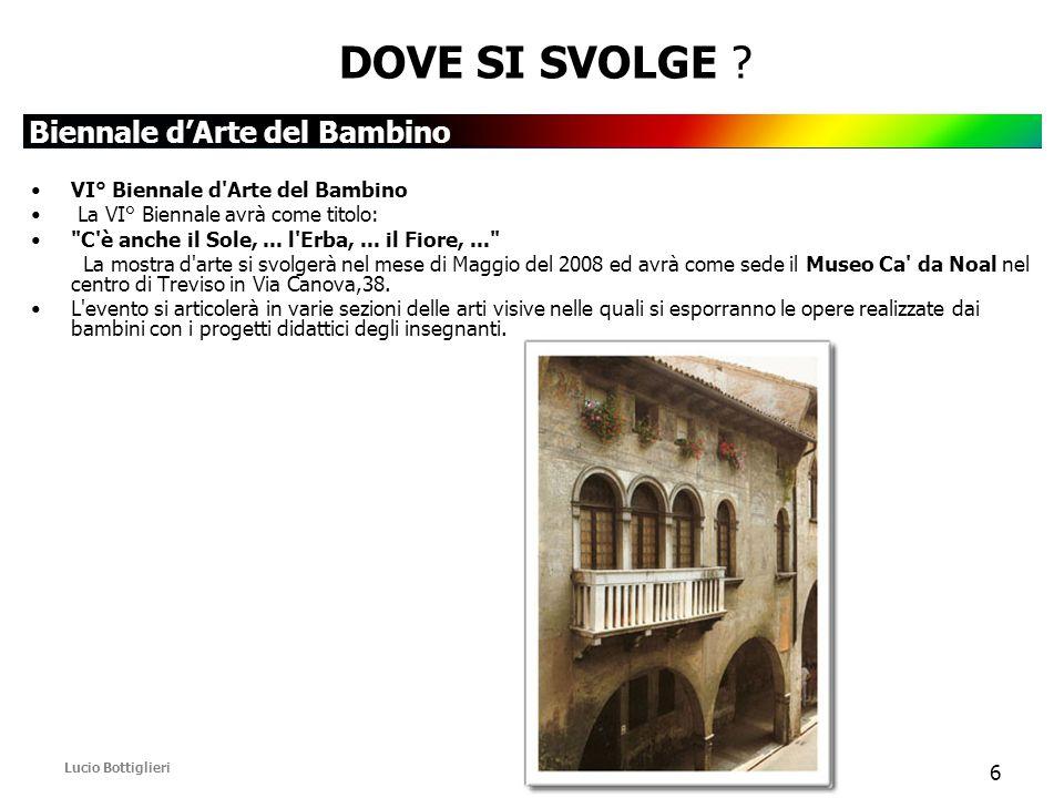 Biennale d'Arte del Bambino Lucio Bottiglieri 6 DOVE SI SVOLGE .