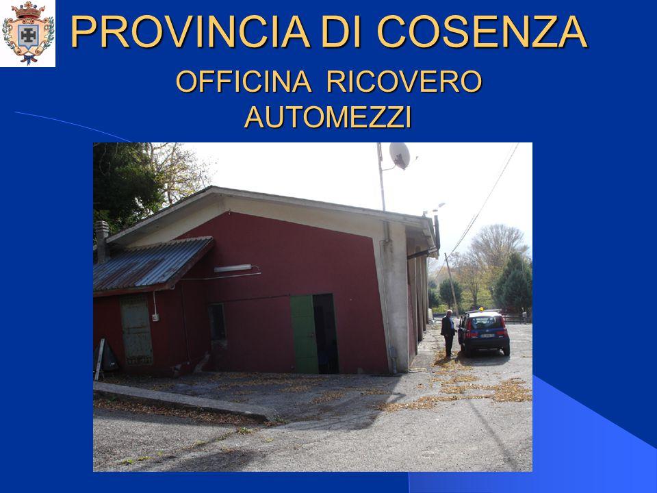 PROVINCIA DI COSENZA CENTRO OPERATIVO CAMPOTESE