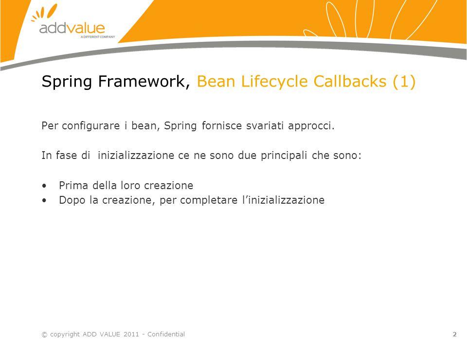 Spring Framework, Bean Lifecycle Callbacks (2) 1.