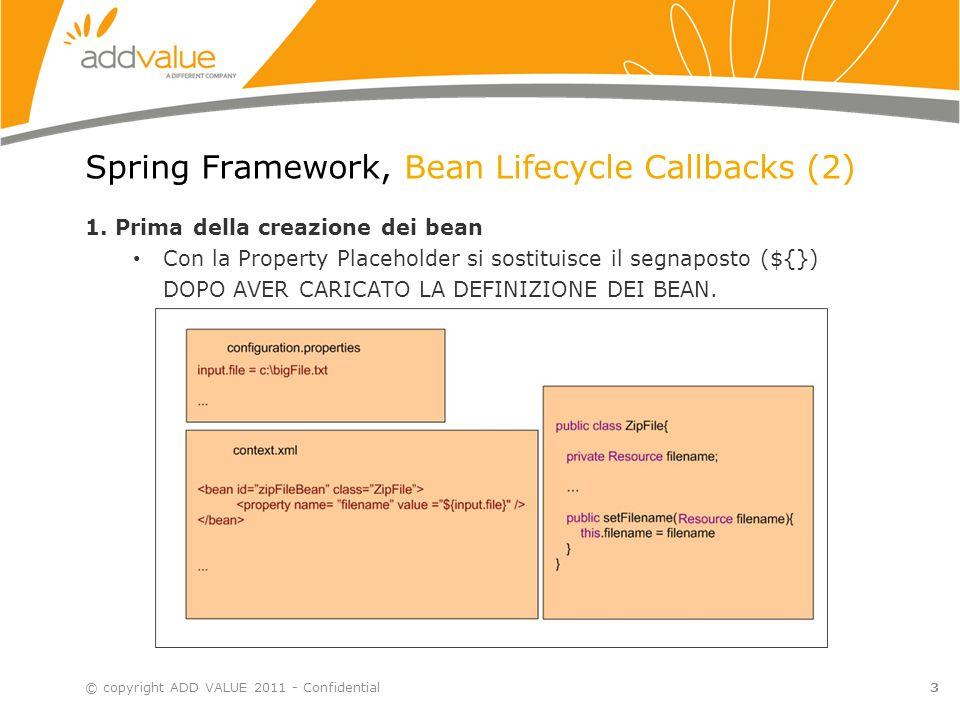 Spring Framework, Bean Lifecycle Callbacks (3) 2.