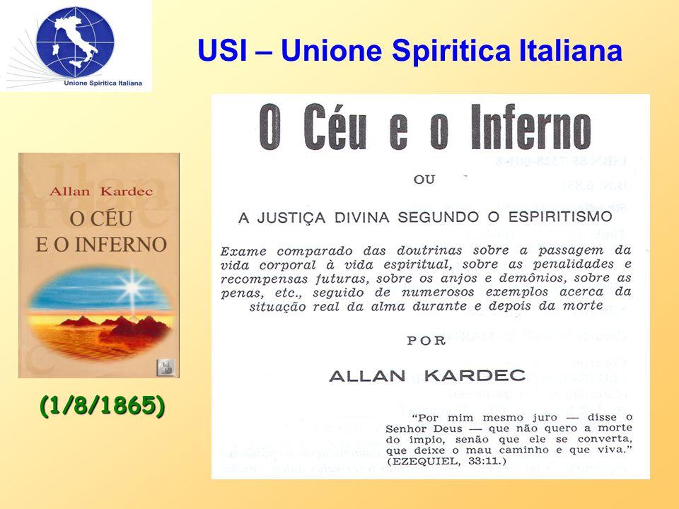 USI – Unione Spiritica Italiana (1/8/1865)