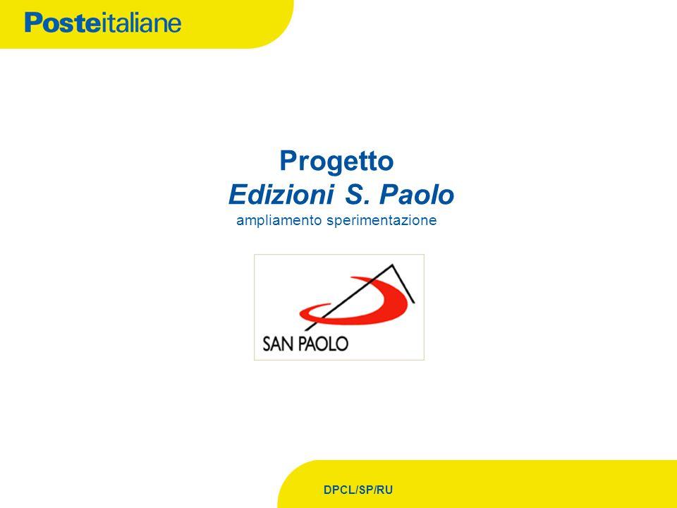 DPCL/SP/RU Progetto Edizioni S. Paolo ampliamento sperimentazione