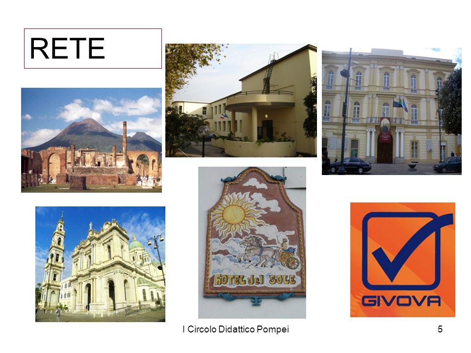 I Circolo Didattico Pompei6 Dove siamo: Pompei Santuario della Beata Vergine del Santo Rosario di Pompei Vesuvio Costiera Sorrentina, Costiera Amalfitana, isole di Ischia, Capri, e Procida.