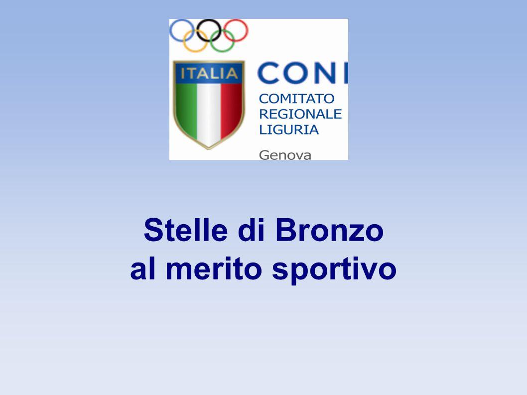 Stella di Bronzo dirigenti Claudio Maggiolo Nuoto