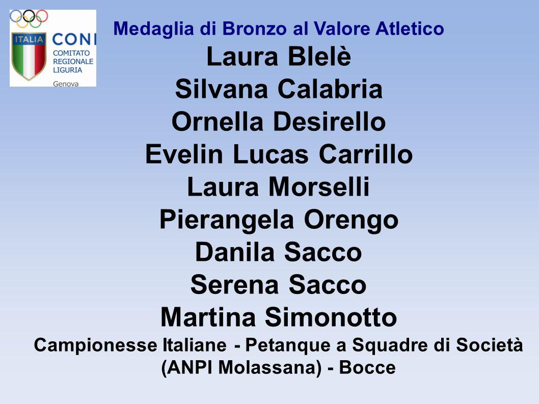 Medaglia di Bronzo al Valore Atletico Alessio Borghesi Campione Italiano Categoria Gozzo Nazionale Canottaggio a sedile fisso