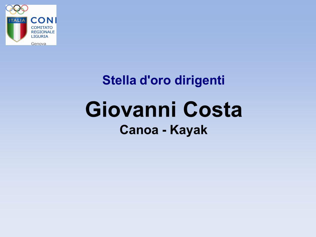 Stella d Oro Dirigenti Roberto Gotelli Tiro con l Arco