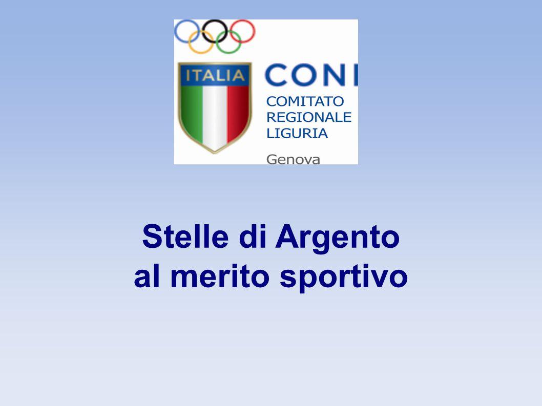 Stella d Argento dirigenti Benito Bruzzone Atletica Leggera