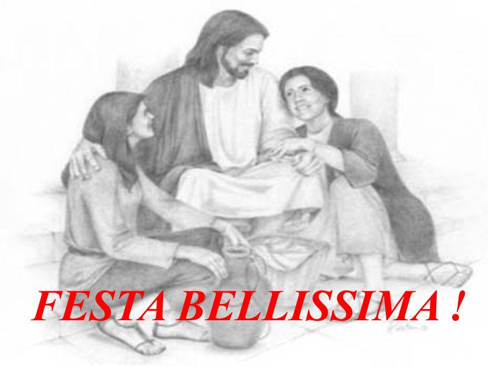 Rivolto ai farisèi ed ai sommi sacerdoti, Gesù allora concluse: Anche Dio vi sta invitando alle nozze di Suo Figlio: alla Sua FESTA BELLISSIMA.