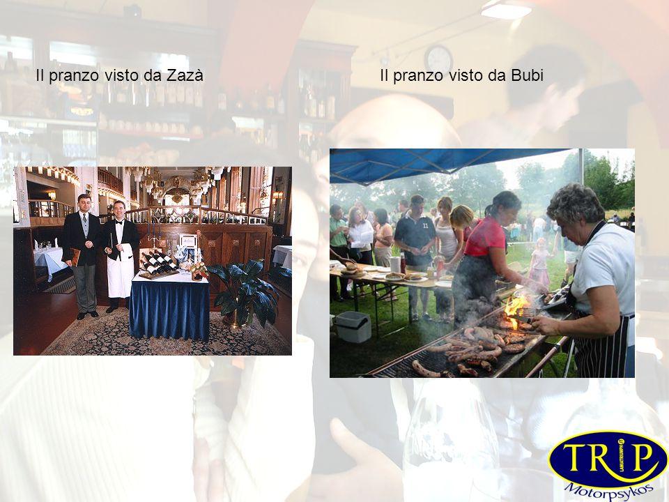Il pranzo visto da ZazàIl pranzo visto da Bubi