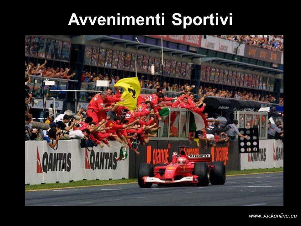 www.Jackonline.eu Avvenimenti Sportivi