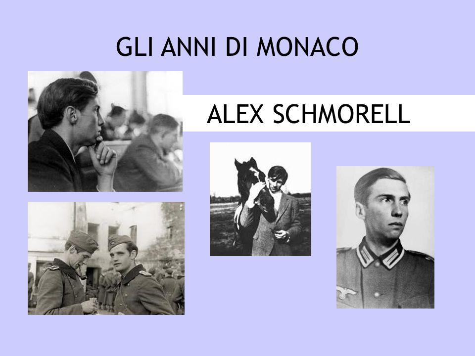 ALEX SCHMORELL GLI ANNI DI MONACO