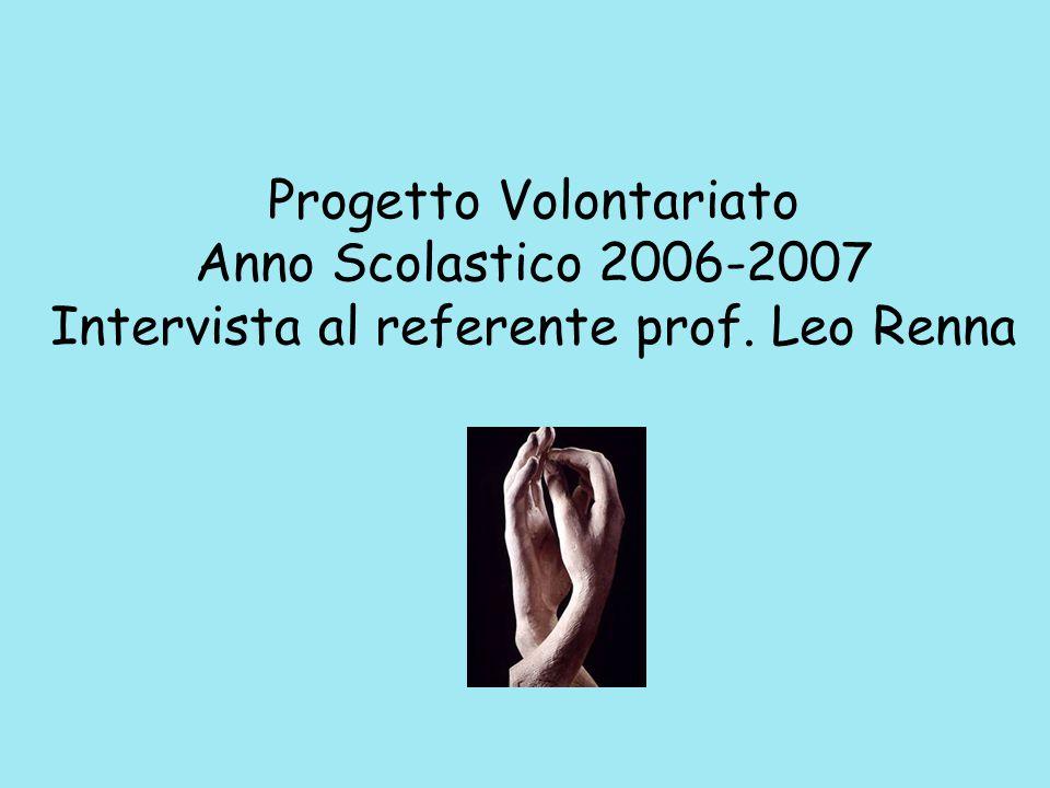 METODO VISTA Progetto di volontariato sul linguaggio e sulla cultura dei segni
