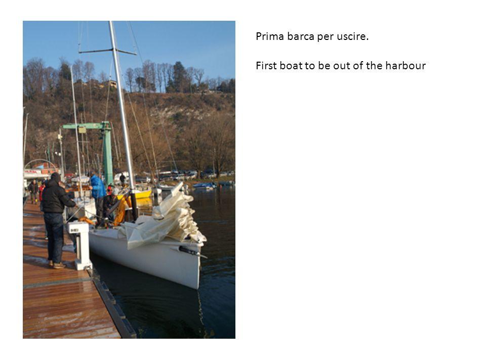 I ragazzi fanno velocita e angolo con le vele - bravo