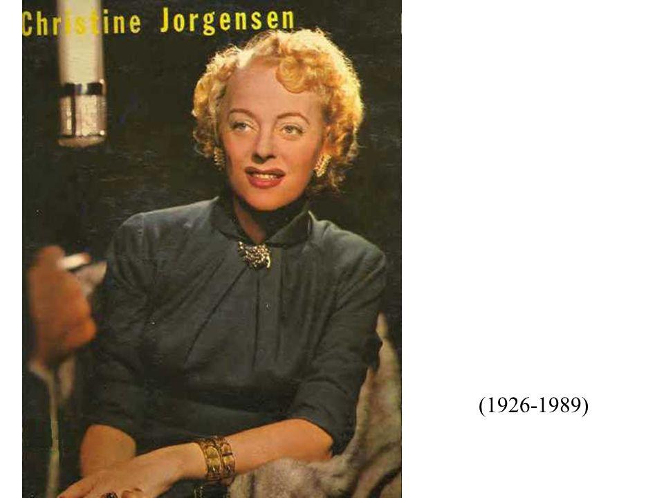 George William/Christine Jorgensen Jr.