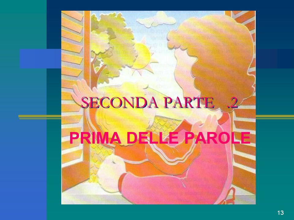 13 SECONDA PARTE.2 PRIMA DELLE PAROLE