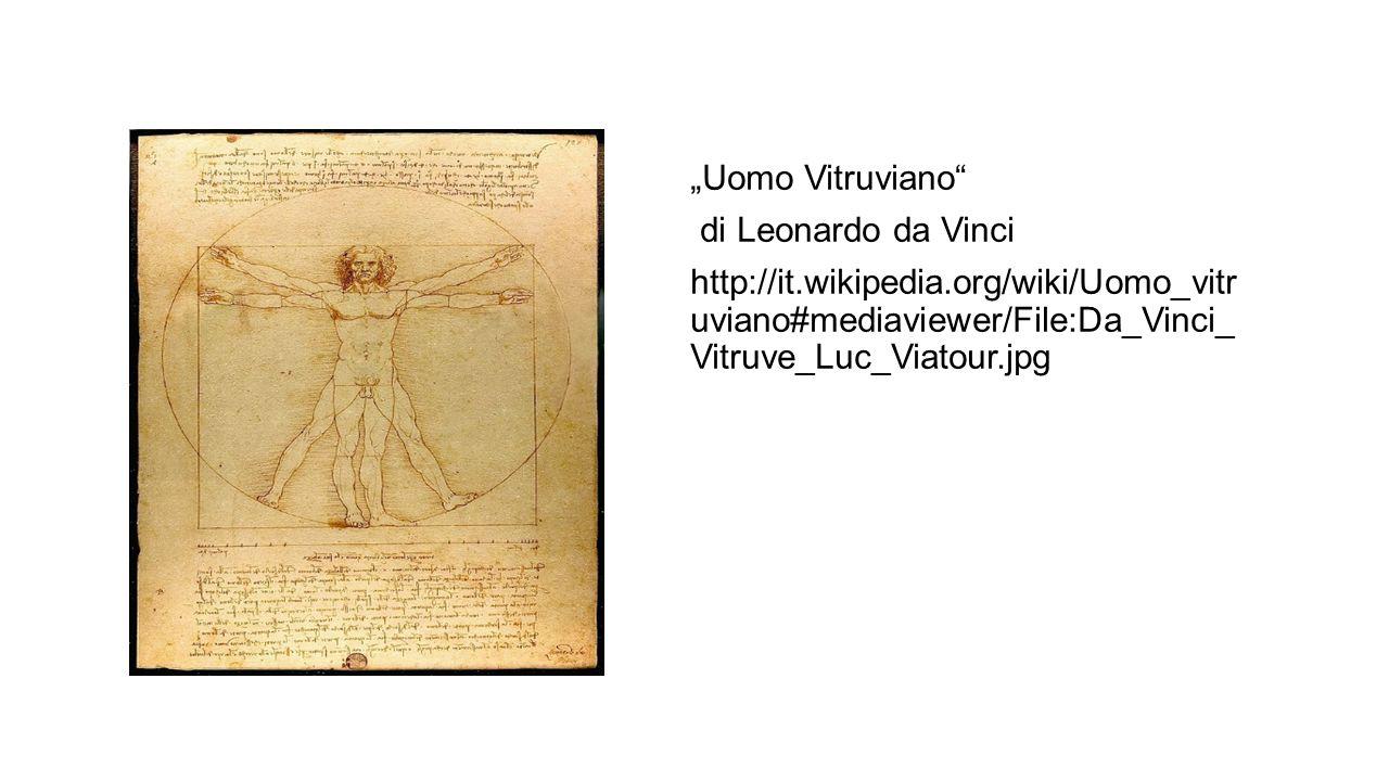 """Uomo Vitruviano"" di Leonardo da Vinci http://it.wikipedia.org/wiki/Uomo_vitr uviano#mediaviewer/File:Da_Vinci_ Vitruve_Luc_Viatour.jpg"