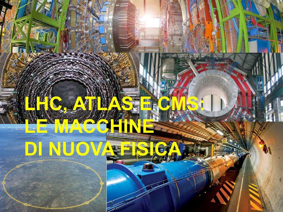 LHC, ATLAS E CMS: LE MACCHINE DI NUOVA FISICA