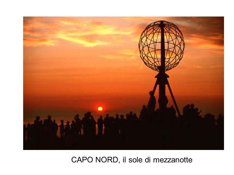 CAPO NORD, il sole di mezzanotte