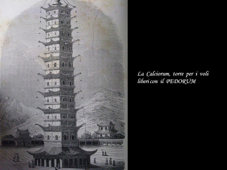 La Calciorum, torre per i voli liberi con il PEDORUM
