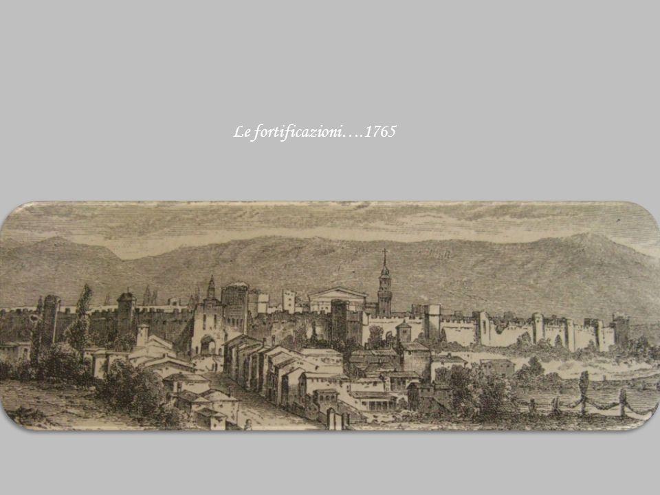 Le fortificazioni….1765