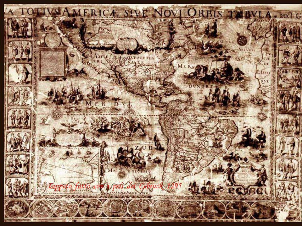 Tappeto fatto con i peli dei Cebruck 1295