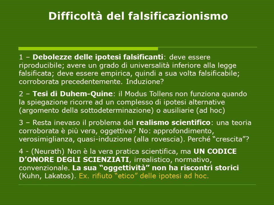 L'ARGOMENTO DELLA TENACIA (M.Schlick, H. Weyl, T.
