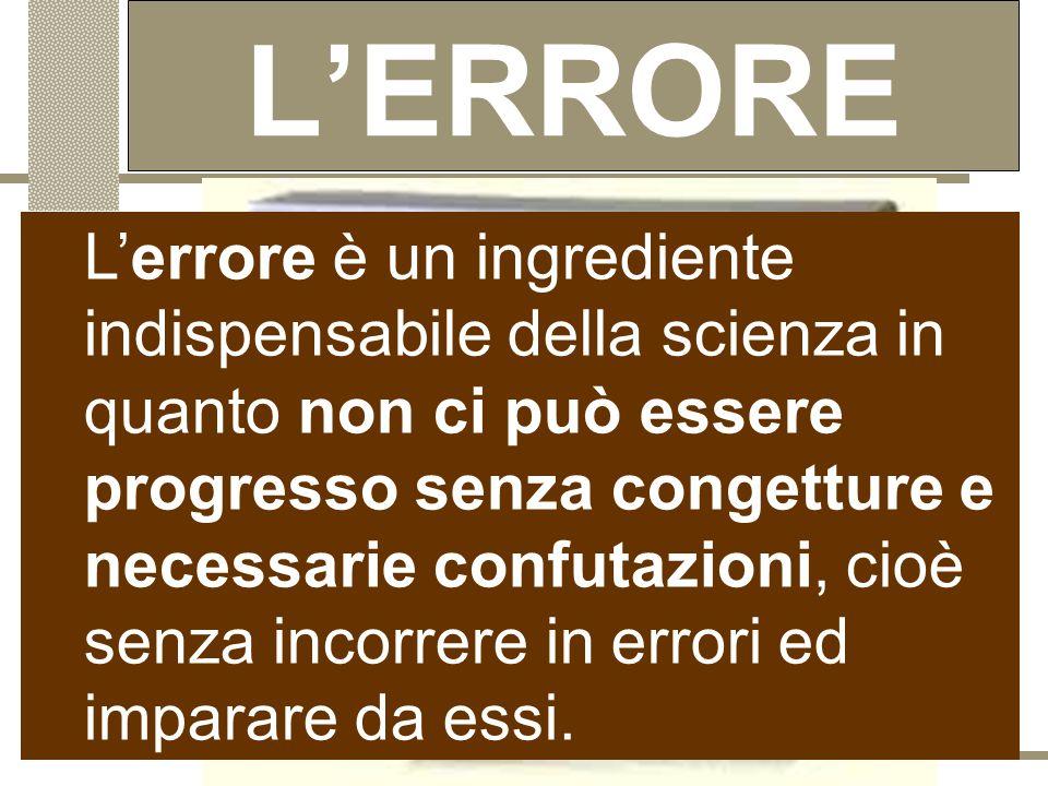 """Trial and error """" Se non esiste un metodo di trovare le teorie, ma esiste un metodo capace di controllare le teorie, esso si definisce """"per congetture"""