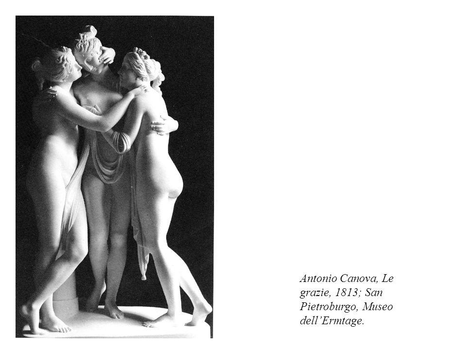 Antonio Canova, Le grazie, 1813; San Pietroburgo, Museo dell'Ermtage.