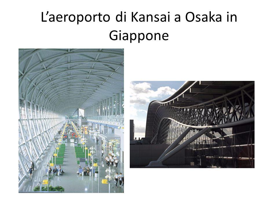 L'aeroporto di Kansai a Osaka in Giappone