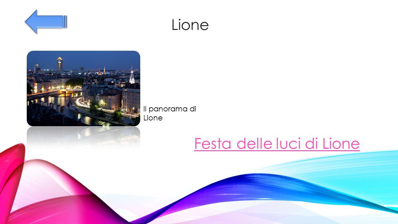 Lione Il panorama di Lione Festa delle luci di Lione